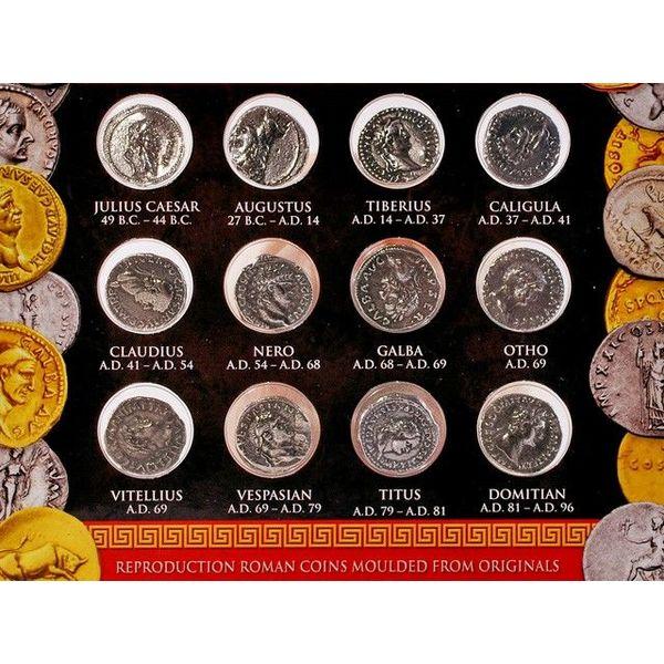 paquet de pièces de monnaie romaine denarii