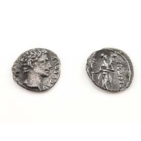 Roman coin Augustus Caesar