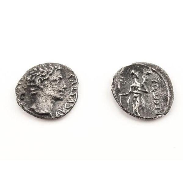 Romeinse munt keizer Augustus