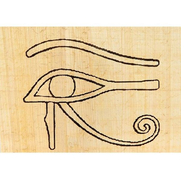 Papyruskleurplaat Horus
