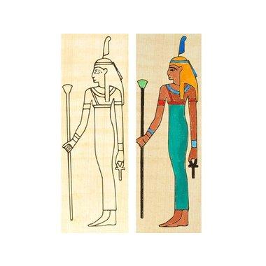 Isis papyrus Coloration permanente