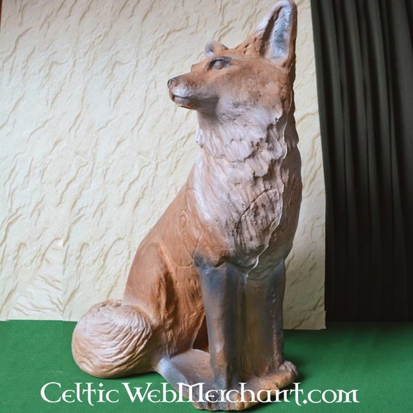 3D-life-size fox