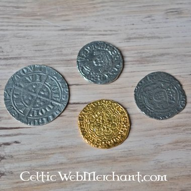 Medieval monete in inglese