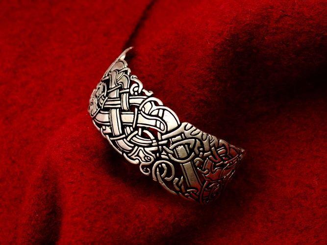 Keltische armband met oudierse motieven - Outs idee open voor levende ...
