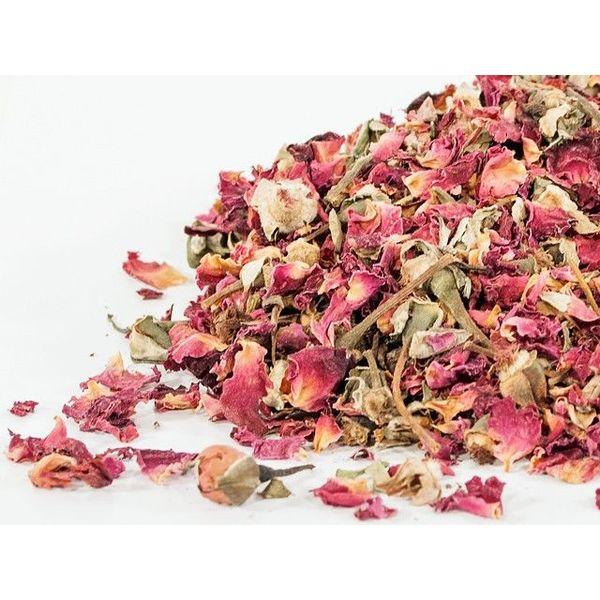 Sundried rose petals