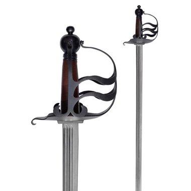 empuñadura de la espada mortuoria