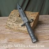 Couteau de baïonnette d'entraînement M9, en caoutchouc