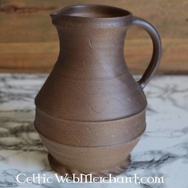 Medieval pouring jug (1250-1350)