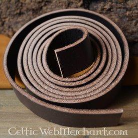 Cinturón de cuero 15 mm / 190 cm