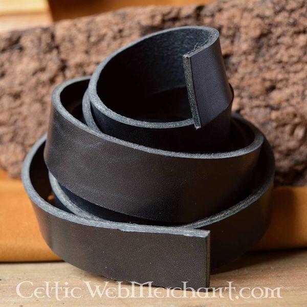 Cinturà³n de cuero 15 mm / 190 cm