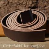Cintura di cuoio 20 mm / 180 cm