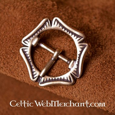 Late medieval Rose buckle