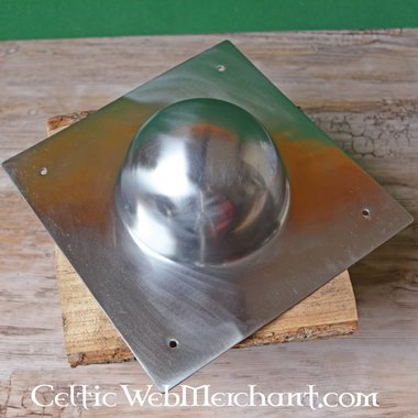 Vierkante schildknop