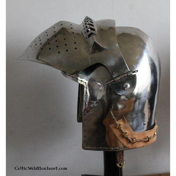 Marshal Historical Bascinet du 15ème siècle, 2 mm