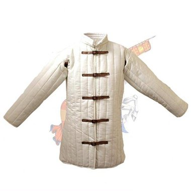 15 gambeson siècle avec des sangles