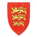 Kinderschild met Engelse heraldiek