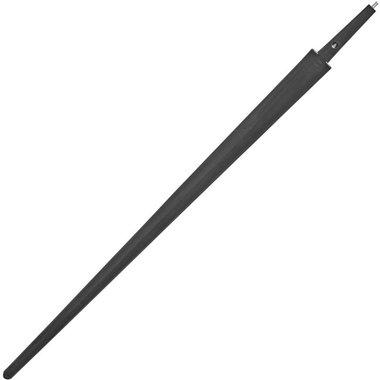Kunststof zwaardkling eenhander zwart