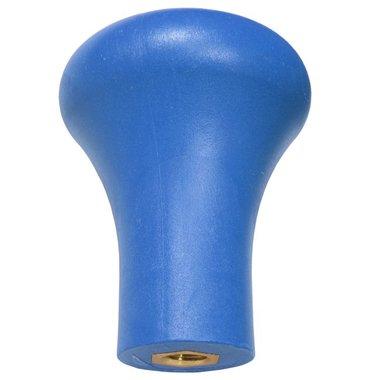Kurkpommel voor trainingszwaarden blauw