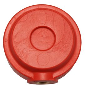 Red dragon Hjul Fæsteknap - Rød
