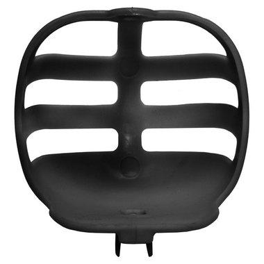 Kunststof basket zwart