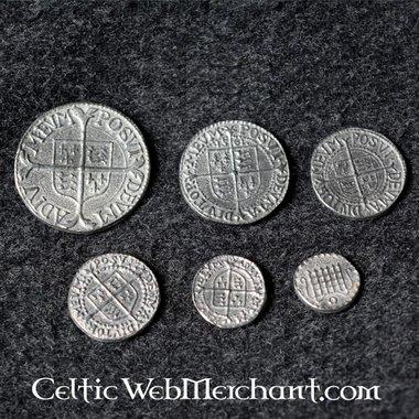 Muntenset Elizabeth I van Engeland