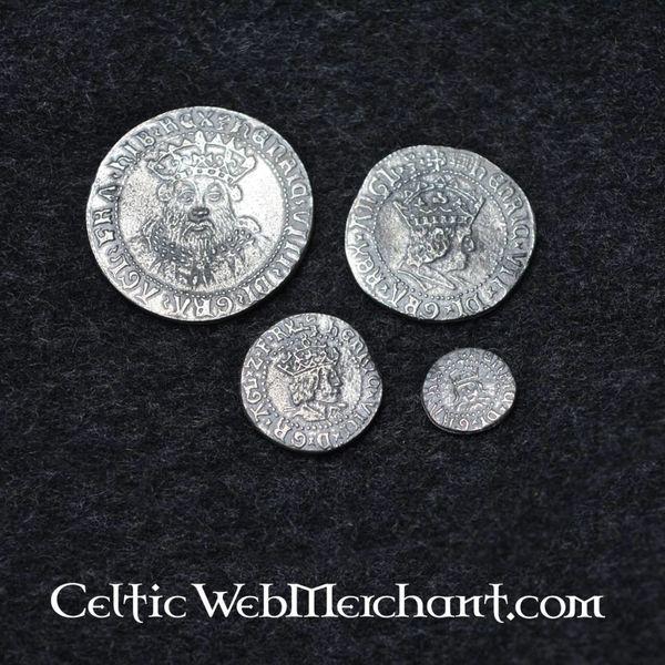 Quatre Coin Set Henry VIII d'Angleterre