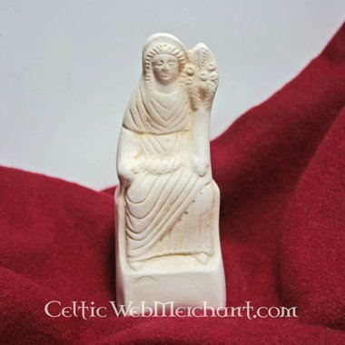 Statue votive romaine, Fortuna assise