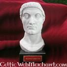 Bust emperor Constantine the Great