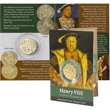 Henry VIII pack Halk Angel