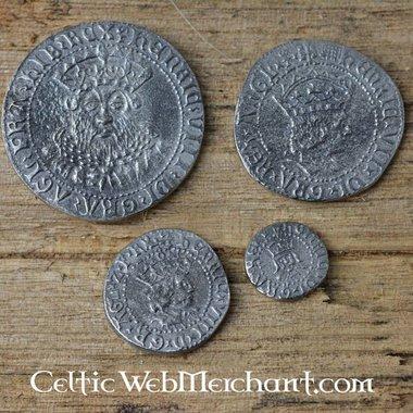 Quattro Coin Set Enrico VIII d'Inghilterra