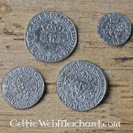 Moneta ustawić Ryszard III Edward IV