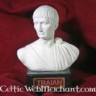 Bust emperor Trajanus
