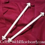Porte-Rouleaux en bois 30 cm, par paire