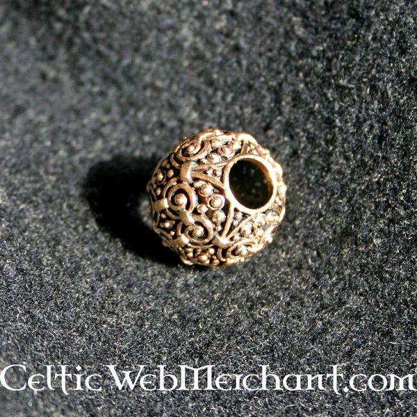 Perlina decorativa bronzo