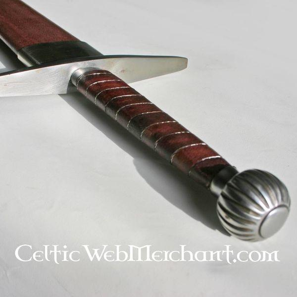 Deepeeka Epée à une main et demi, Oakeshott type XIIIa, prête au combat