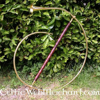 Traditional Roman cornu