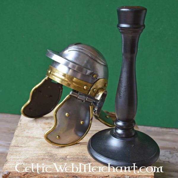 Miniature legionary helmet