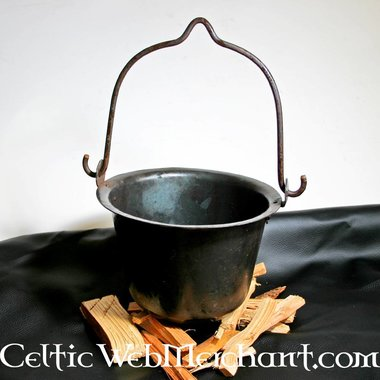 Sartén de cocina medieval
