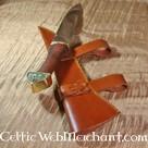 Triquetrasax met houten handvat
