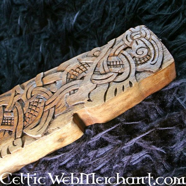 Sculpture sur bois Viking