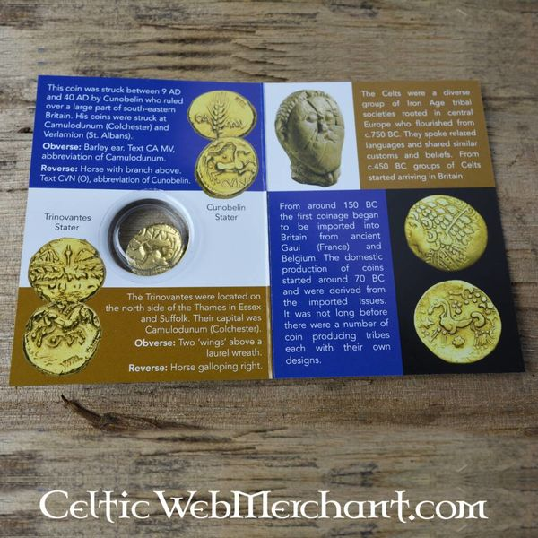 Celtic moneta Cunobelinus