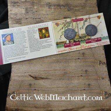 El paquete de menta Enrique VIII e Isabel I Tudor