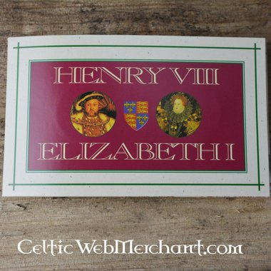 Mint Package Henry VIII et Elizabeth I Tudor