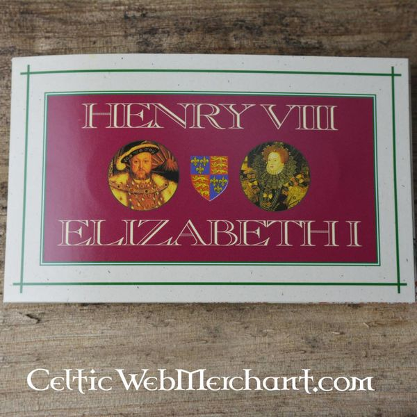 Moneta pakietu Henryk VIII i Elżbieta I kratownicowy