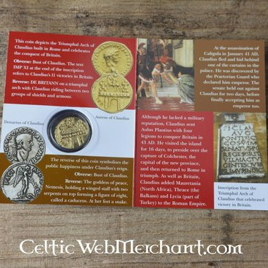 pacchetto aureus romano Claudio