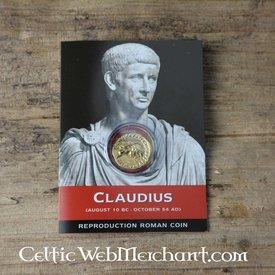 Romersk aureus pack Claudius