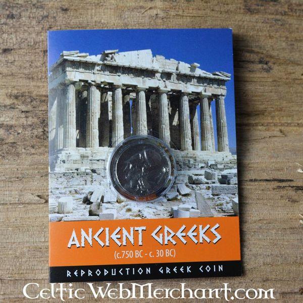 Græske Drachmer med pegasus