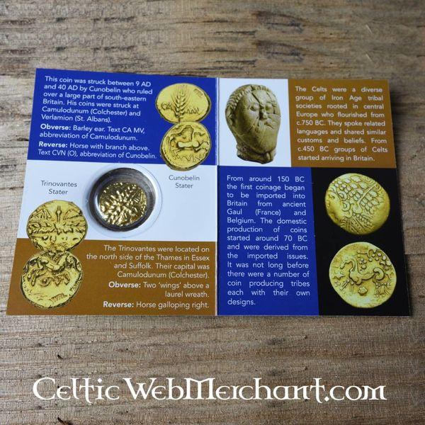 Celtic Trinovantes monety