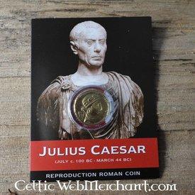 Romersk aureus pack Cæsar