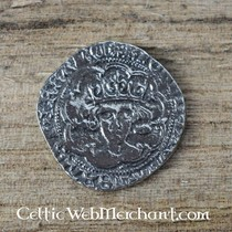 14th-15th century chausse, per piece, gray